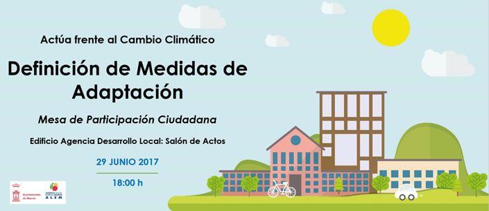 alem - El Ayuntamiento de Murcia abre la participación ciudadana al proceso de adaptación del Municipio de Murcia al Cambio Climático