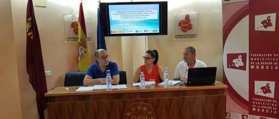 cab 050720171428531 - FDS y la Federación de Municipios de la Región de Murcia informan a los Ayuntamientos sobre subvenciones para proyectos de economía baja en carbono