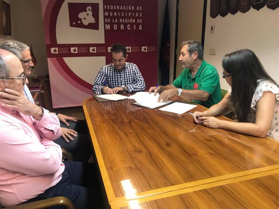 fmrm1 - La Federación de Municipios de la Región de Murcia y FDS firman un convenio para impulsar el desarrollo sostenible de los municipios