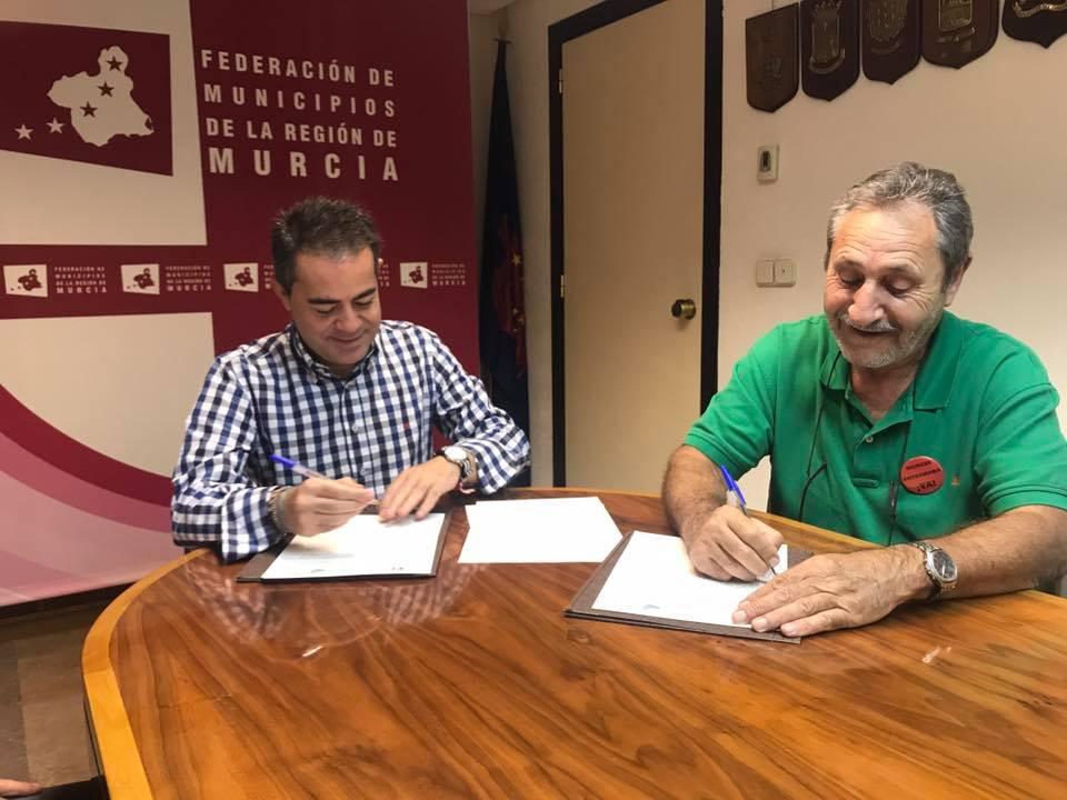 fmrm2 - La Federación de Municipios de la Región de Murcia y FDS firman un convenio para impulsar el desarrollo sostenible de los municipios