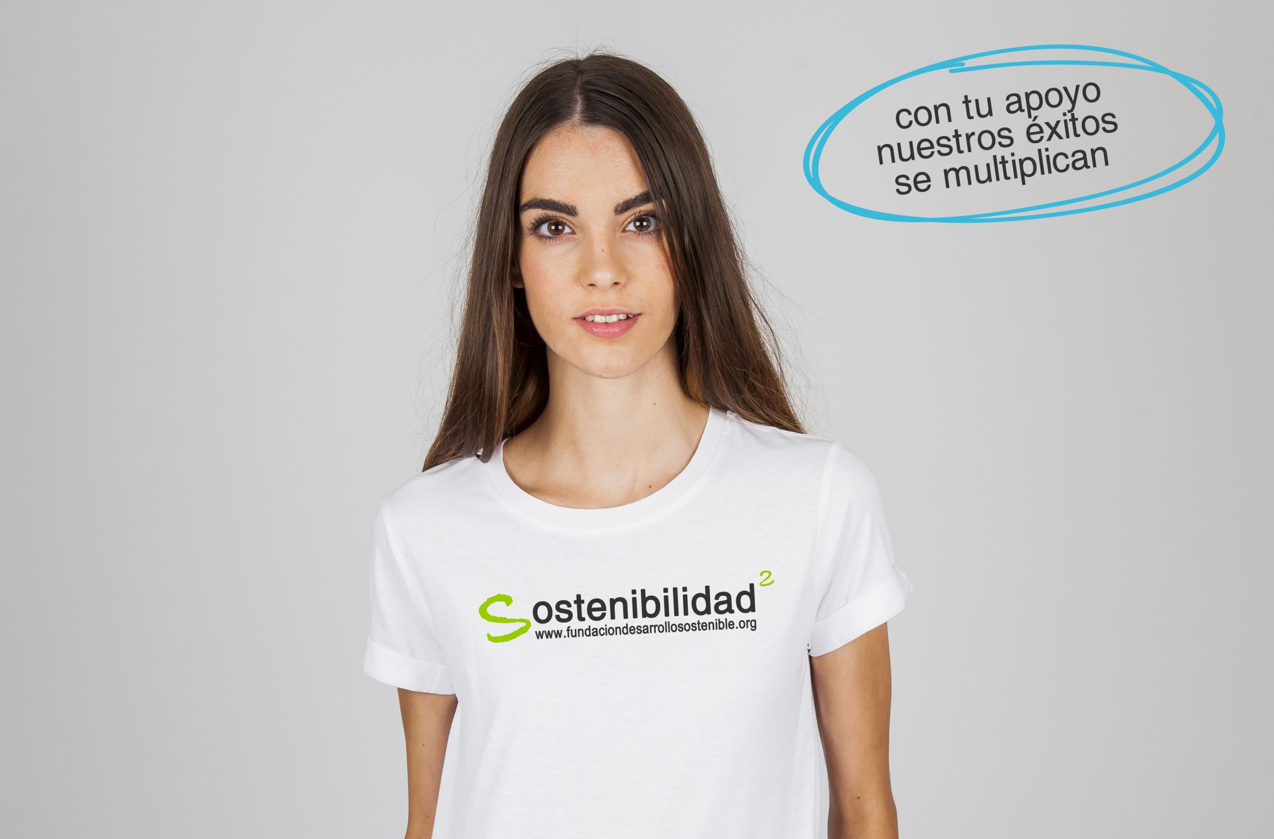 camiseta chica - Apadrina un proyecto