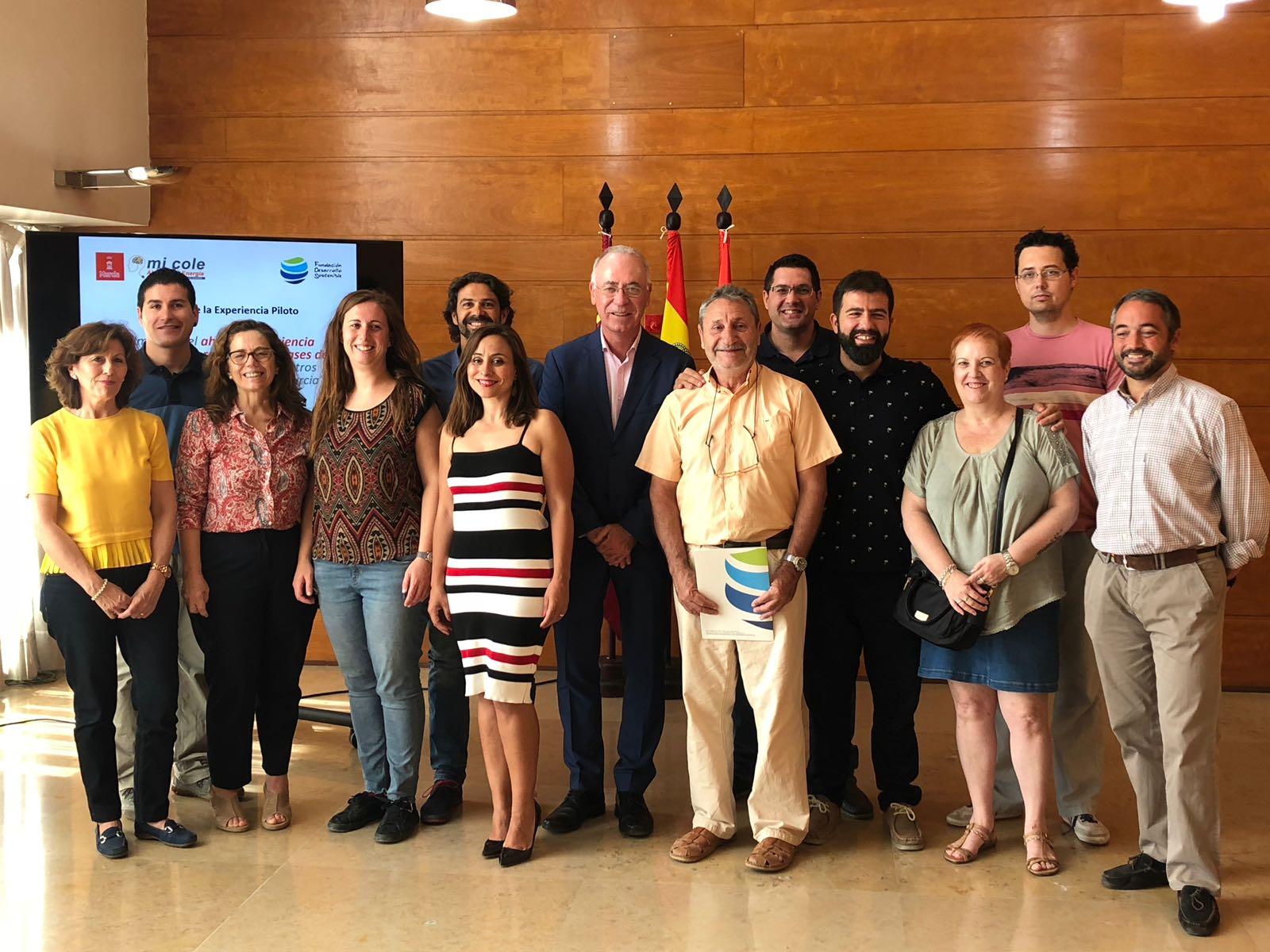 68426B33 C822 46D8 9C00 88F0834787B4 - El Ayuntamiento de Murcia reduce sus emisiones de CO2 en casi 2 toneladas durante el primer trimestre del 2018 gracias al proyecto 'Mi Cole Ahorra con Energía'