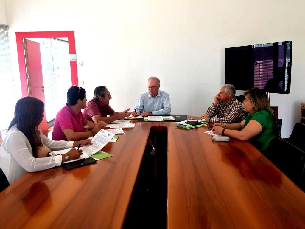 comision seguimiento 6 Mayo - El Ayuntamiento de Murcia valora positivamente la colaboración de la Fundación Desarrollo Sostenible