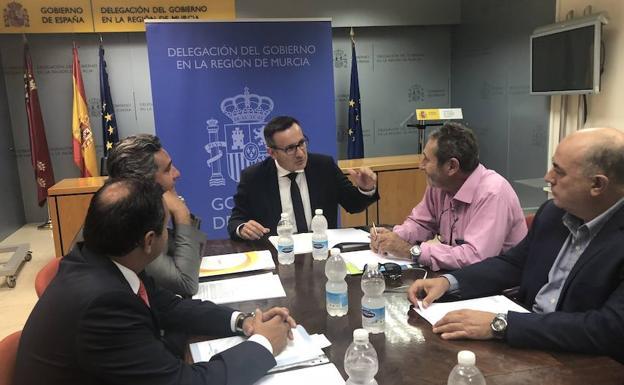 delegacion murcia - El Delegado del Gobierno de Murcia se reúne con la Fundación Desarrollo Sostenible