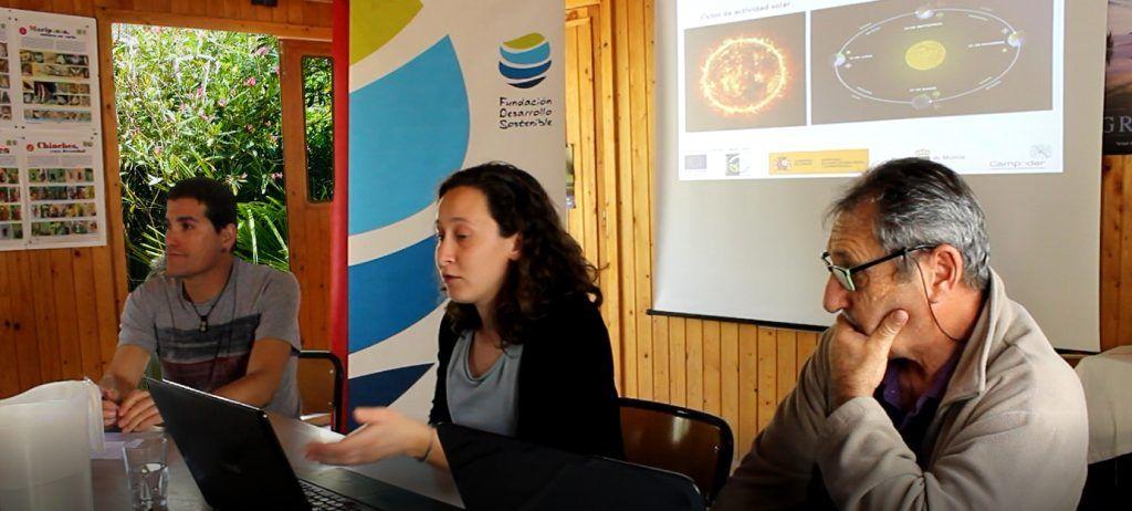 charla1EERR 1024x462 - El mundo rural descubre las posibilidades de las energías renovables de la mano de la Fundación Desarrollo Sostenible