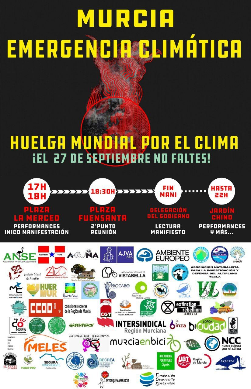 27S2019 - Convocatoria de Manifestación por el Clima