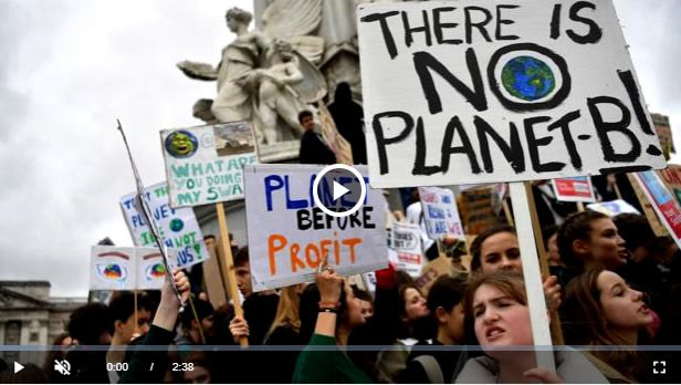 greta - El 72% de los españoles achaca el cambio climático a la actividad humana