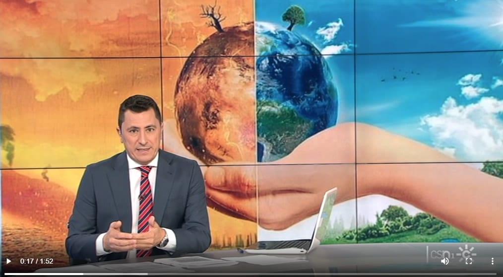 """Andaluces Cambio Climatico - Todo noticias mañana - D.Jiménez: """"El estado de los mares ha sensibilizado a la población del cambio climático"""""""