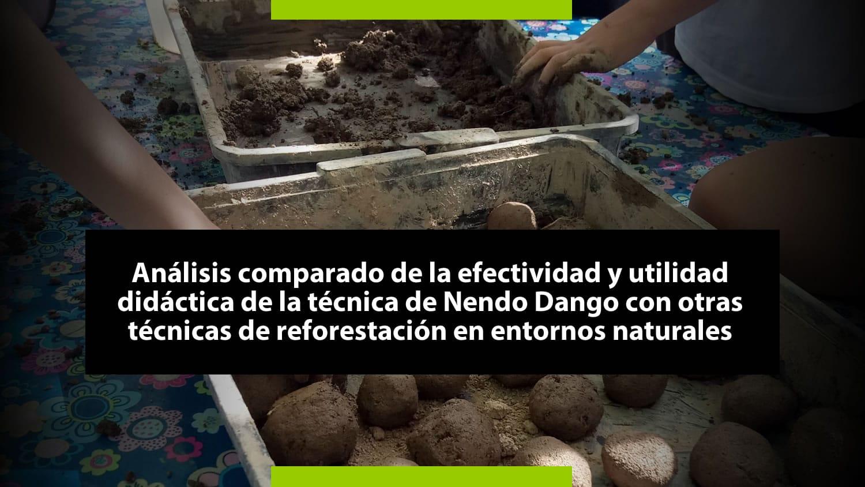 Nendo Dango - Estudio eficacia y utilidad didáctica del Nendo Dango