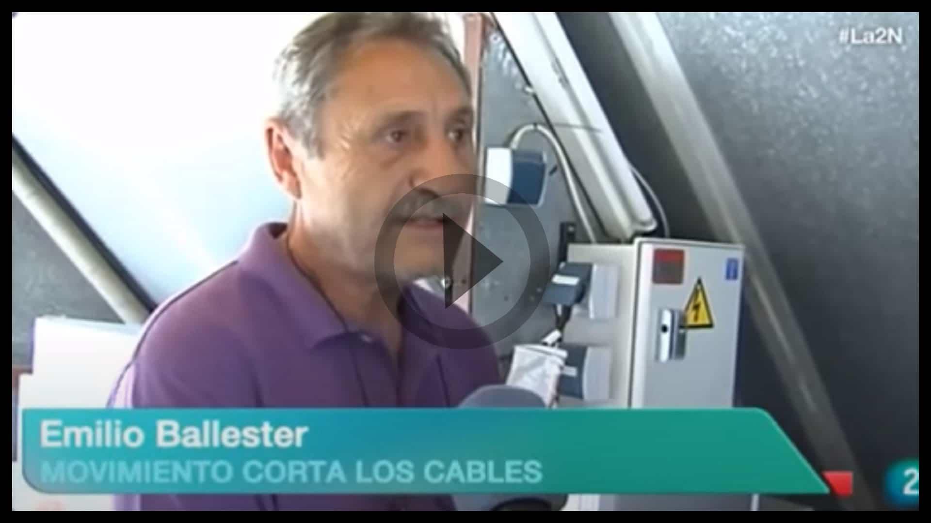 Emilio Ballester y Corta los Cables