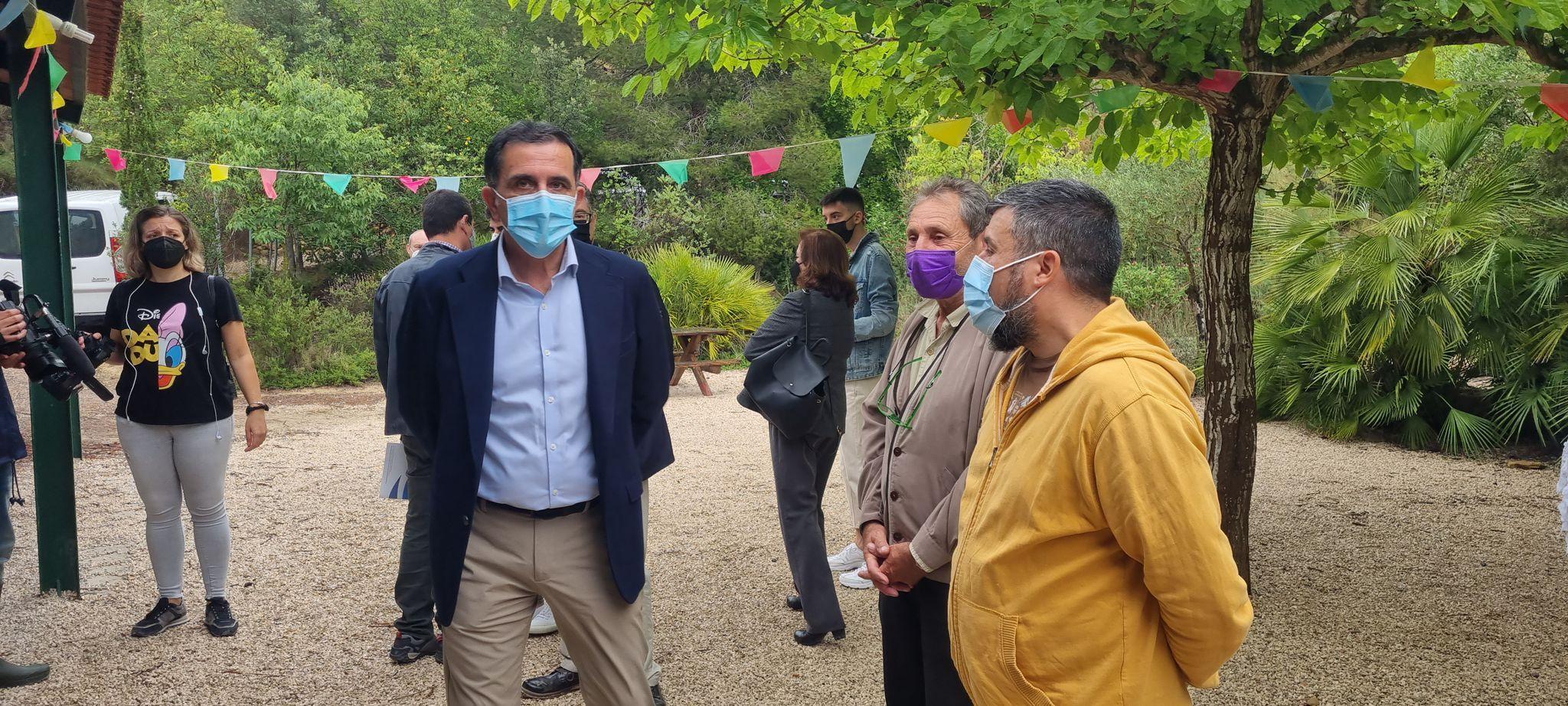 WhatsApp Image 2021 06 05 at 18.00.45 - El Alcalde de Murcia visita el Centro Medioambiental Fuente de Columbares